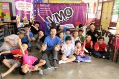 VMO camp participants